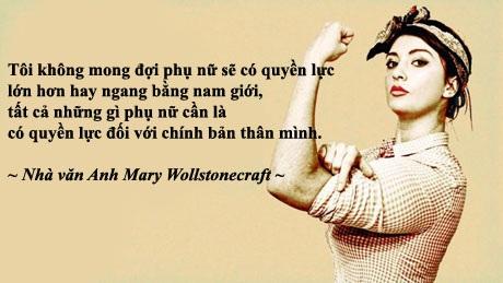 Những câu nói hay nhất cho ngày Quốc tế Phụ nữ - 7
