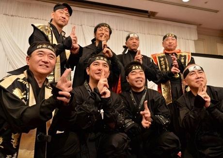 Năm ngoái, nhiều quan chức Nhật Bản đã cùng nhau hóa trang thành ninja để thể hiện quyết tâm thúc đẩy phát triển hoạt động du lịch của địa phương mình.