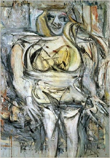 """Bức """"Phụ nữ III"""" của họa sĩ người Mỹ Willem de Kooning được bán với giá 137,5 triệu đô la (3055 tỉ đồng)."""
