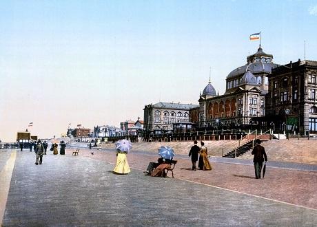 Khu resort ven biển Scheveningen, một vùng dân cư ở thành phố Den Haag, Hà Lan.