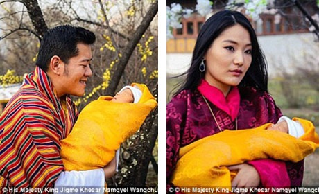 Hoàng tử bé sẽ được đặt tên chính thức vào ngày 16/4 sau khi tròn hai tháng tuổi theo tục lệ truyền thống.