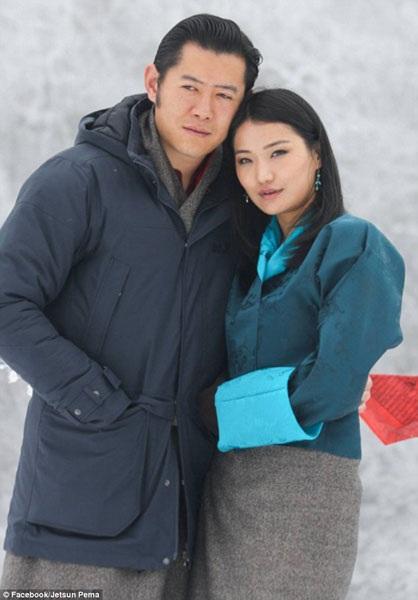 Vợ chồng Quốc vương Bhutan được cho là một trong những cặp đôi hấp dẫn nhất của Hoàng gia phương Đông.