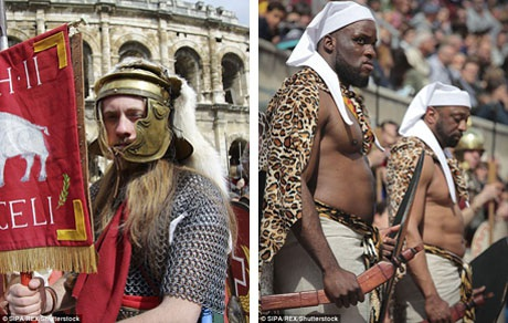 Chỉ đàn ông mới có thể trở thành chiến binh trong quân đội La Mã. Họ thường đến từ Pháp, Đức, bán đảo Balkan, Tây Ban Nha, Châu Phi và Trung Đông.