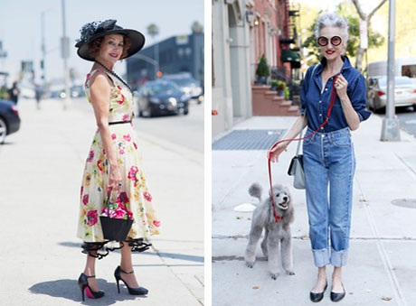 """Những cụ già """"rực rỡ"""" với thời trang khiến tuổi tác chỉ là… con số - 1"""