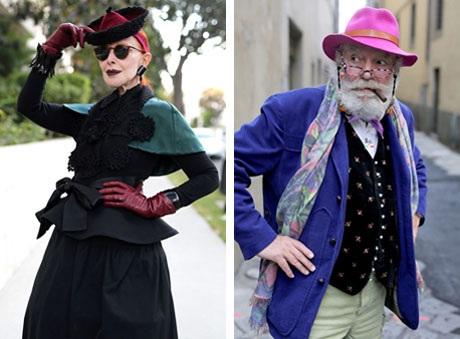 """Những cụ già """"rực rỡ"""" với thời trang khiến tuổi tác chỉ là… con số - 4"""