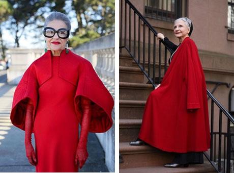 """Những cụ già """"rực rỡ"""" với thời trang khiến tuổi tác chỉ là… con số - 6"""