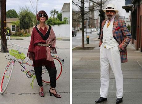 """Những cụ già """"rực rỡ"""" với thời trang khiến tuổi tác chỉ là… con số - 8"""