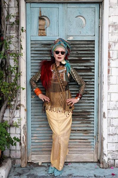 """Những cụ già """"rực rỡ"""" với thời trang khiến tuổi tác chỉ là… con số - 9"""