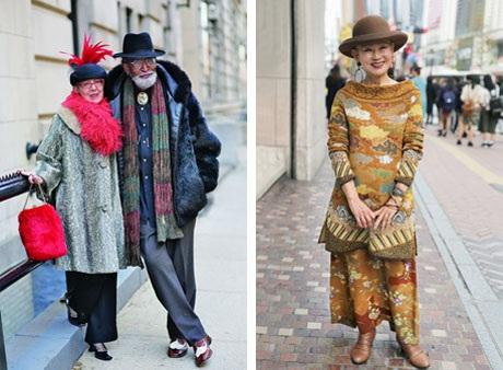 """Những cụ già """"rực rỡ"""" với thời trang khiến tuổi tác chỉ là… con số - 10"""
