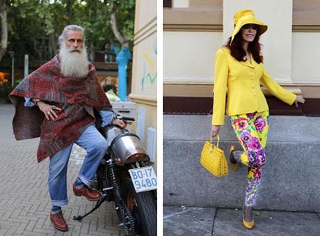 """Những cụ già """"rực rỡ"""" với thời trang khiến tuổi tác chỉ là… con số - 11"""