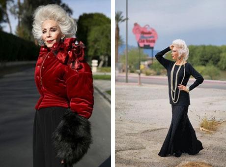 """Những cụ già """"rực rỡ"""" với thời trang khiến tuổi tác chỉ là… con số - 12"""