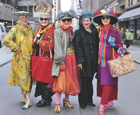 """Những cụ già """"rực rỡ"""" với thời trang khiến tuổi tác chỉ là… con số - 13"""