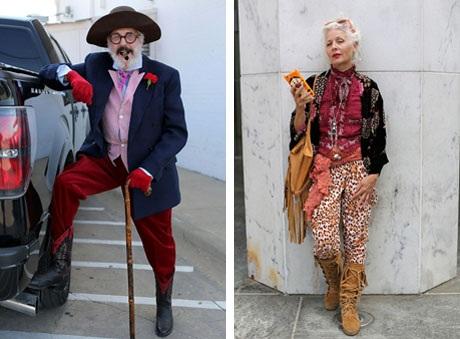 """Những cụ già """"rực rỡ"""" với thời trang khiến tuổi tác chỉ là… con số - 15"""
