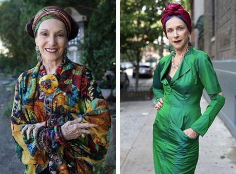 """Những cụ già """"rực rỡ"""" với thời trang khiến tuổi tác chỉ là… con số - 18"""