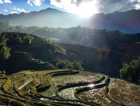 """Bức """"Sa Pa, Việt Nam"""" - Tim G. Bức ảnh này đã được chụp sau 7 giờ leo núi."""