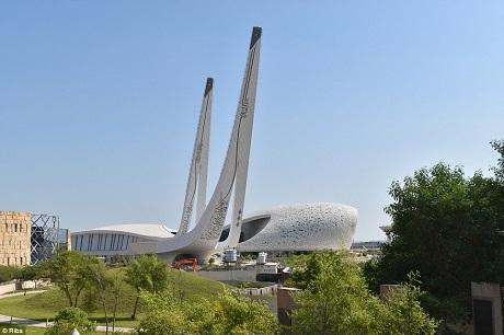 Học viện Hồi giáo của Qatar là một tòa nhà phục vụ công tác nghiên cứu nằm ở trung tâm thủ đô Doha. Qatar hiện đang trải qua một cuộc bùng nổ hoạt động xây dựng để kịp chào đón World Cup 2022 được tổ chức tại đất nước này.