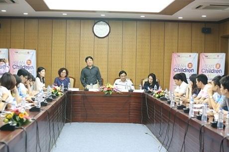 Toàn cảnh buổi họp báo diễn ra vào sáng 27/5 tại Đài Truyền hình Việt Nam. Ảnh: TL.
