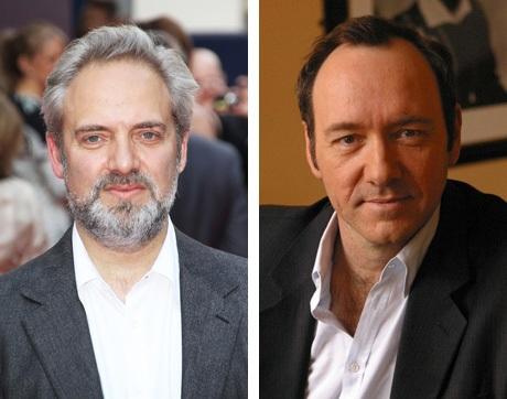 Đạo diễn Sam Mendes (trái) vừa tiết lộ một bí mật về bộ phim thành công đáng kể trong sự nghiệp của ông.