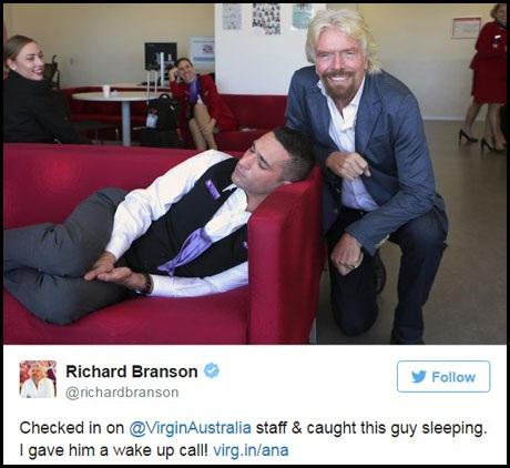 Khoảnh khắc hài hước khi ông chủ tỉ phú bắt gặp nhân viên đang… ngủ - 2