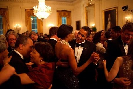 Một buổi dạ tiệc ở Nhà Trắng.