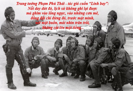 Những trang viết còn lại của một cuộc đời Lính bay
