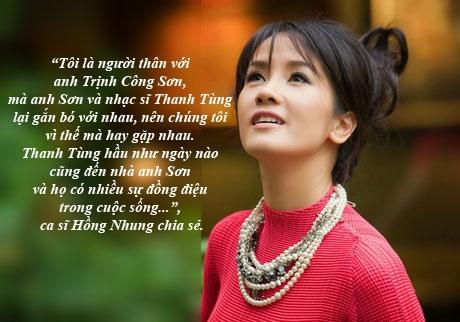 """Khi Hồng Nhung hát """"Một mình"""", Trịnh Công Sơn đã khóc..."""