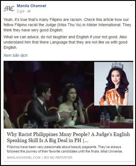 Báo nước ngoài viết gì về khả năng nói tiếng Anh của Hoa hậu Triều Thu? - 6