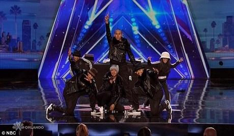 Nhóm nhảy hip hop gồm toàn các anh em trong một đại gia đình nhận được nhiều thiện cảm từ ban giám khảo.