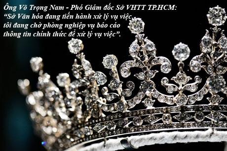 Sở Văn hóa TPHCM vào cuộc vụ vượt rào trao 33 Hoa khôi, Á khôi