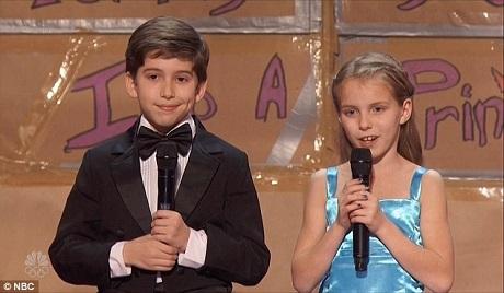 Kaden và Brooklyn Rockett đã biểu diễn một màn ảo thuật gây ấn tượng.