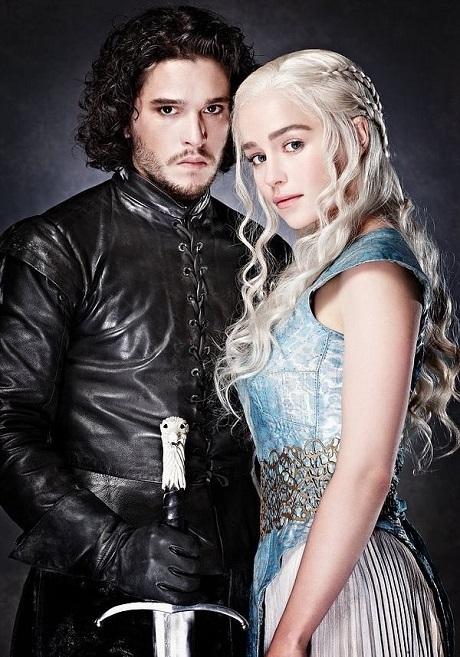 Jon Snow và cô ruột Daenerys