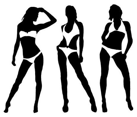 Bikini không chỉ đơn thuần là một thiết kế sexy gợi cảm, thực sự, bikini đã chứng kiến một quá trình biến động của chuẩn đẹp hình thể phụ nữ.