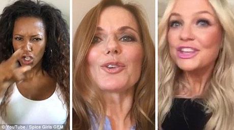 """Ba thành viên còn lại của nhóm sẽ tạo thành tam ca GEM trong một sự kiện kỷ niệm ngày Spice Girls cho ra mắt đĩa đơn đầu tay - """"Wannabe"""" (8/7/1996)."""
