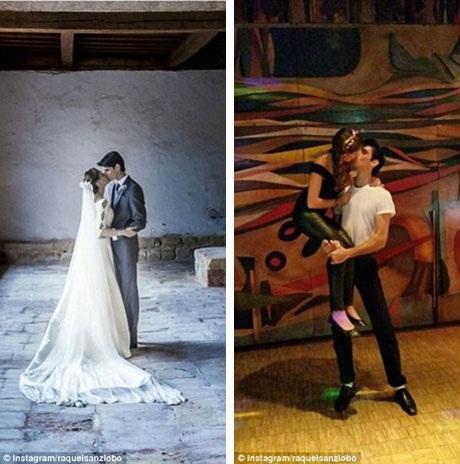 Những hình ảnh của vợ chồng người đấu bò Victor Barrio hồi năm 2014 khi vừa mới kết hôn.