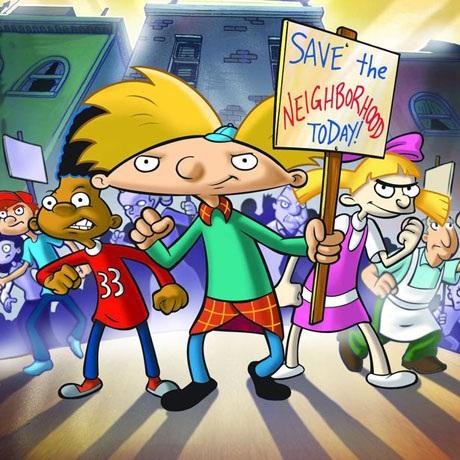 """Nhân vật cậu nhóc Arnold trong loạt phim hoạt hình của Mỹ """"Hey Arnold!"""" thực tế không hề… """"mặc váy"""". Khi thoạt nhìn qua tạo hình nhân vật này, đa phần người ta tưởng cậu bé Arnold đang mặc một chiếc váy kẻ ca-rô dành cho nam giới theo kiểu của người Scotland, nhưng không phải, đó thực tế là phần đuôi áo sơ-mi nằm bên dưới chiếc áo len."""