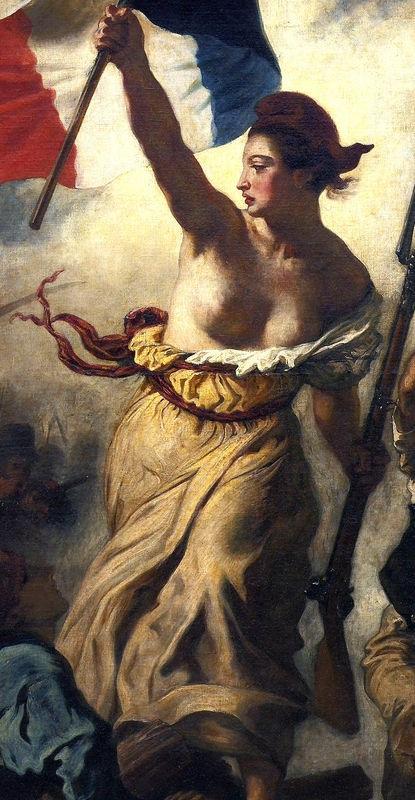 Tinh thần và vẻ đẹp Pháp khắc họa ngoạn mục trong siêu phẩm hội họa - 3