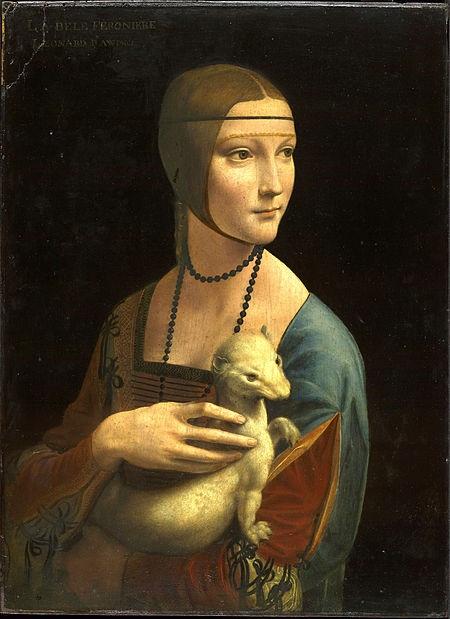 Da Vinci cũng thường đem áp dụng tỉ lệ vàng để khắc họa gương mặt của các nhân vật xuất hiện trong tranh ông.