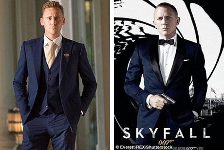 Tom Hiddleston được xem là sự thay thế hoàn hảo cho Daniel Craig trong vai Điệp viên James Bond.