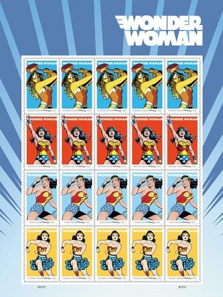 Wonder Woman lên tem sau 75 năm khẳng định nữ quyền - 3