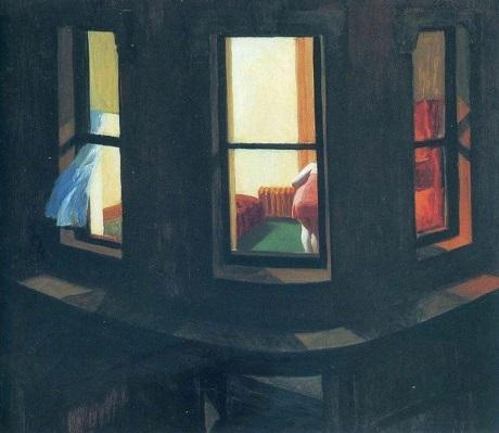 """Bức """"Night Windows"""" (Những ô cửa đêm)"""
