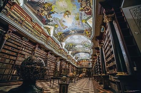 Tại sao thư viện có ở khắp nơi tại Séc? - 10
