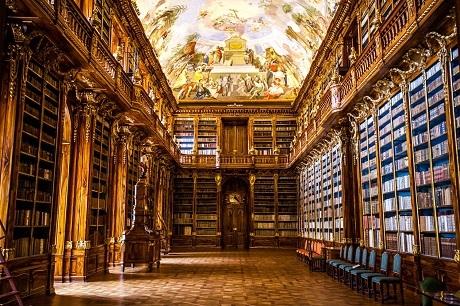 Tại sao thư viện có ở khắp nơi tại Séc? - 11