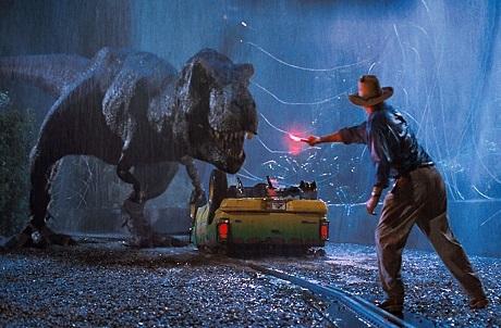 """Cảnh trong phim """"Jurassic Park"""" (Công viên kỷ Jura - 1993)."""