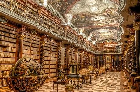 Tại sao thư viện có ở khắp nơi tại Séc? - 5