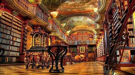 Tại sao thư viện có ở khắp nơi tại Séc? - 9