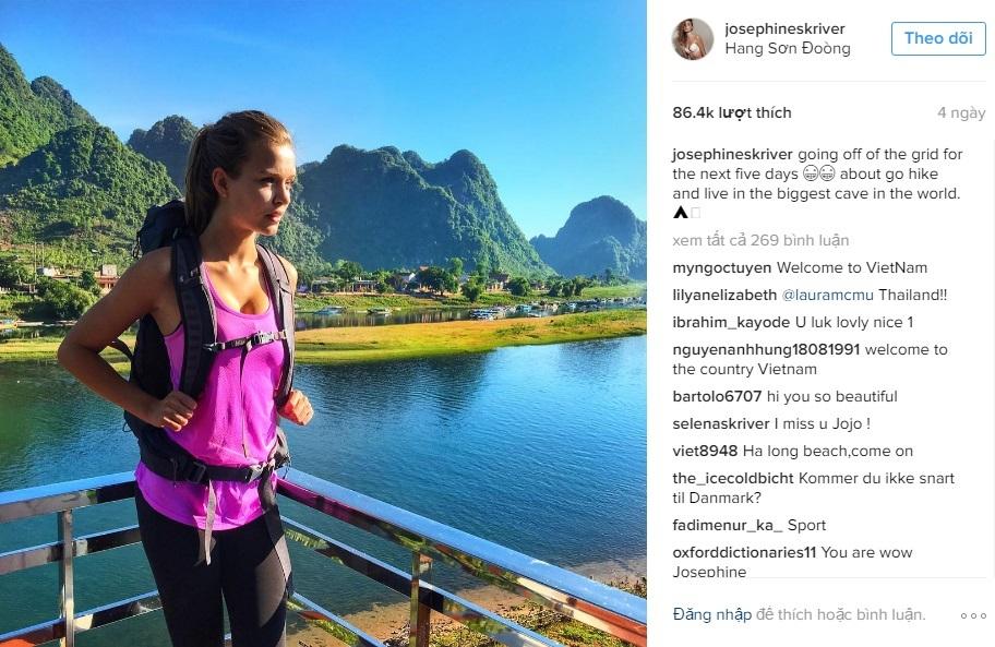 Thiên thần mới của Victoria's Secret ngỡ ngàng vì vẻ đẹp Việt Nam - 5