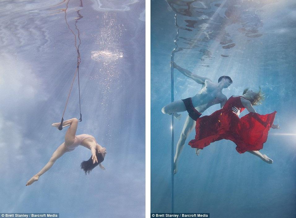 Những bức hình của Brett Stanley đã đưa vẻ đẹp của bộ môn nghệ thuật múa cột lên một đẳng cấp mới.
