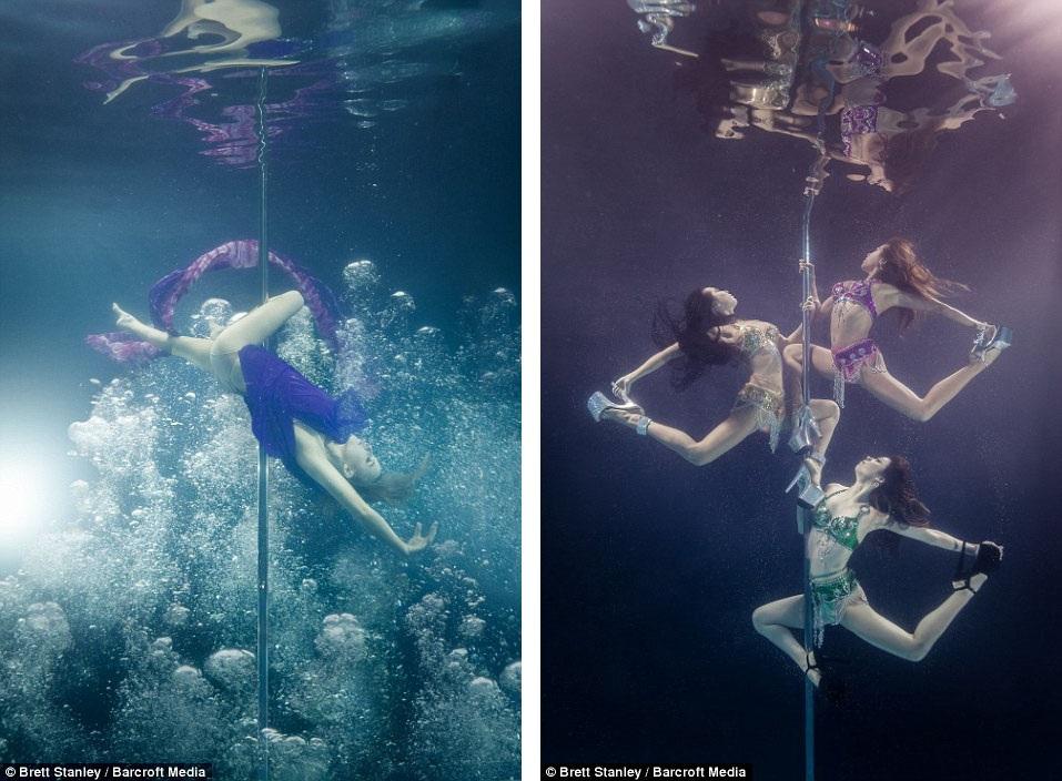 Để thực hiện được những động tác chuẩn trong môi trường dưới nước không đơn giản, đòi hỏi sự kiên trì thực hiện và hợp tác của người mẫu cùng nhiếp ảnh gia.