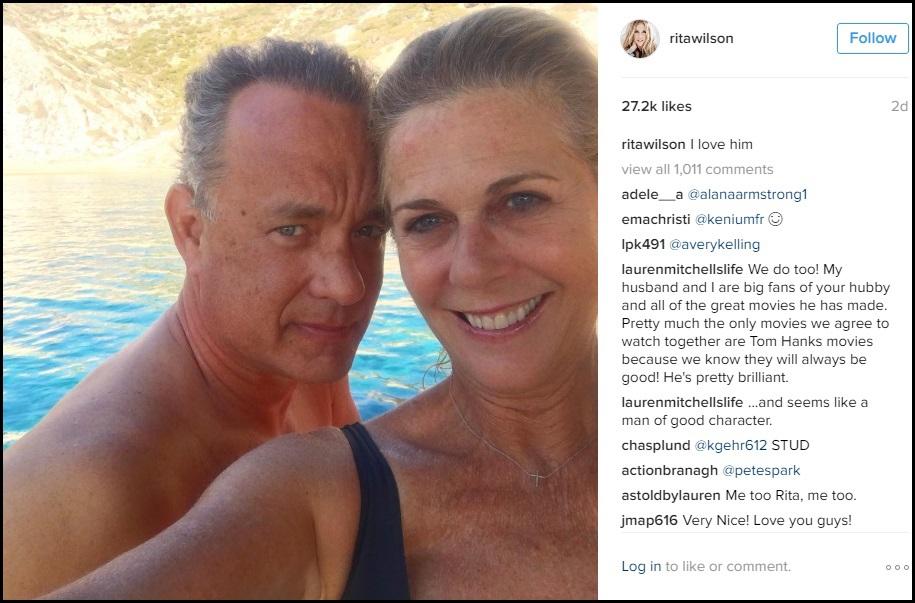 Tình yêu 30 năm vẫn bền chặt của nam tài tử Tom Hanks - 1