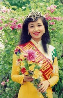 Hoa hậu Diệu Hoa năm 1990